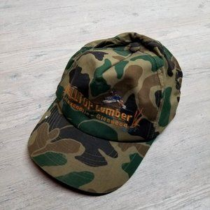 Vintage Duck Camo Hunting Hat. Perfect! Amazing!